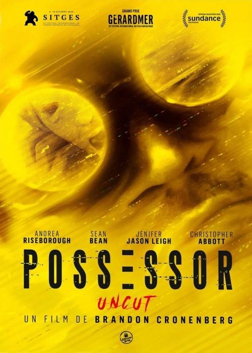 Possessor film affiche définitive réalisé par Brandon Cronenberg