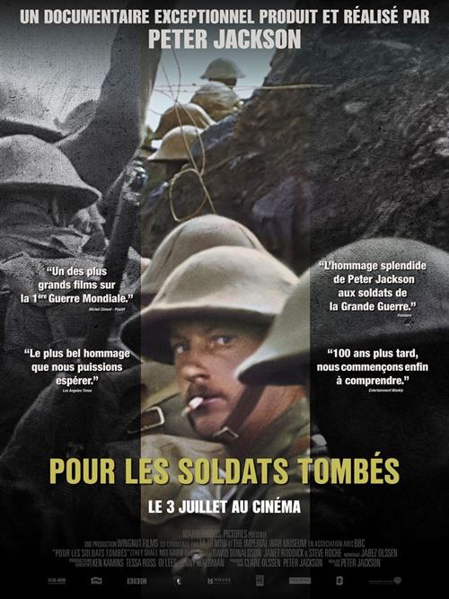 Pour les soldats tombés film documentaire affiche