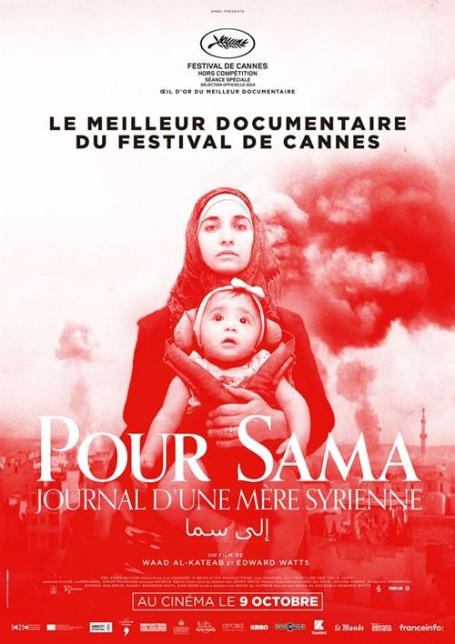 Pour Sama film documentaire affiche