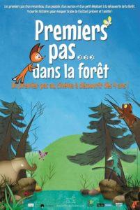 Premiers pas dans la forêt film animation affiche