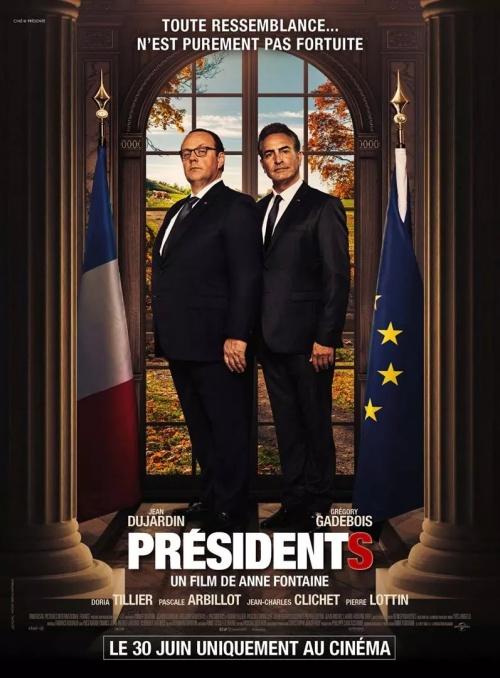 Présidents film affiche réalisé par Anne Fontaine