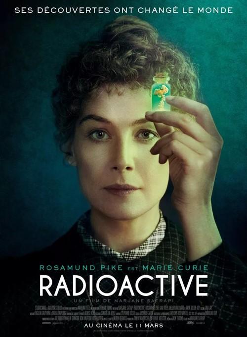 Radioactive film affiche