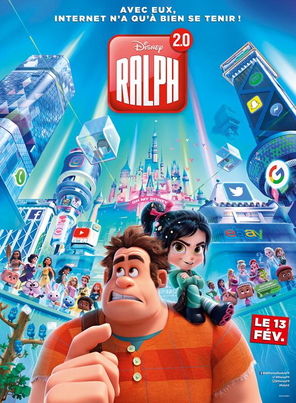Ralph 2.0 film affiche