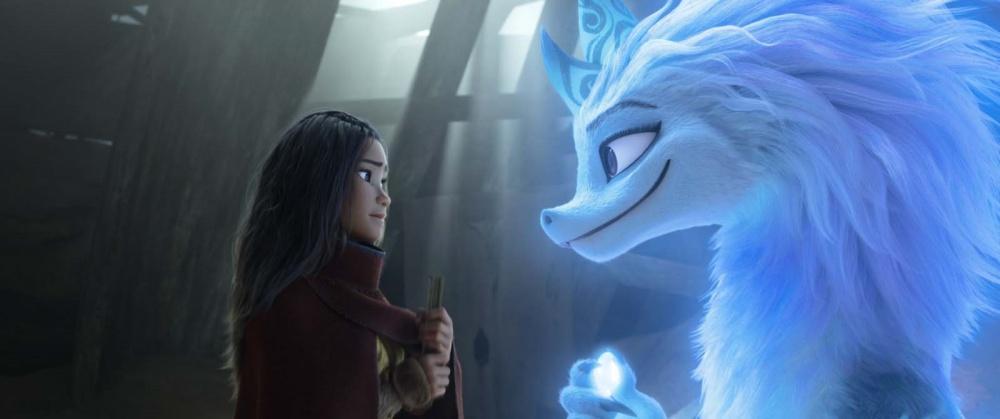 Raya et le dernier dragon film animation animated movie