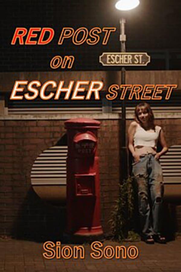 Red Post on escher street film affiche réalisé par Sono Sion