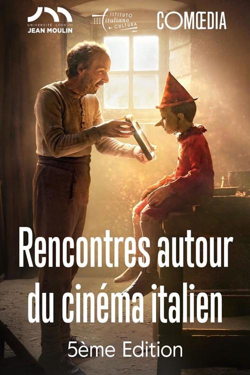 Rencontres du cinéma italien d'aujourd'hui 2020 Comoedia affiche