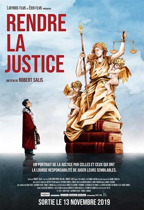 Rendre la justice film documentaire affiche