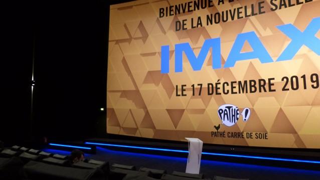 Réouverture de la salle Imax du Pathé Carré de Soie mercredi 18 décembre 2019 image