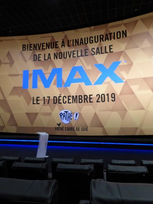 Réouverture de la salle Imax du Pathé Carré de Soie mercredi 18 décembre 2019
