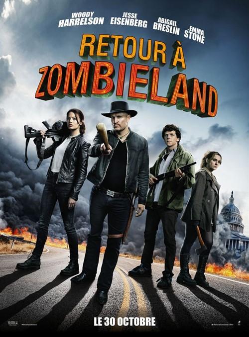 Retour à Zombieland film affiche