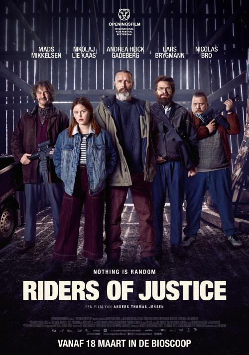Riders of Justice film affiche réalisé par Anders Thomas Jensen
