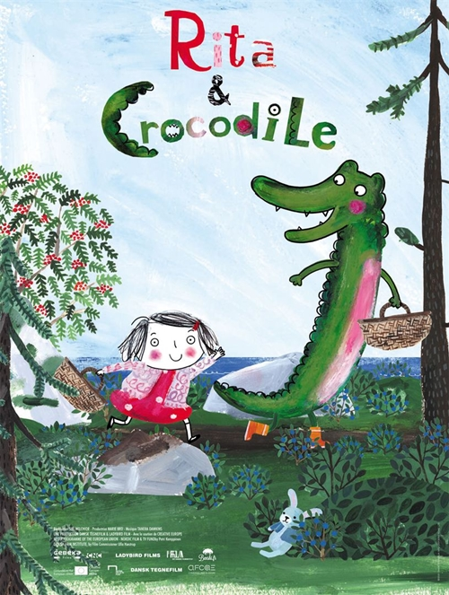 Rita et Crocodile film animation affiche