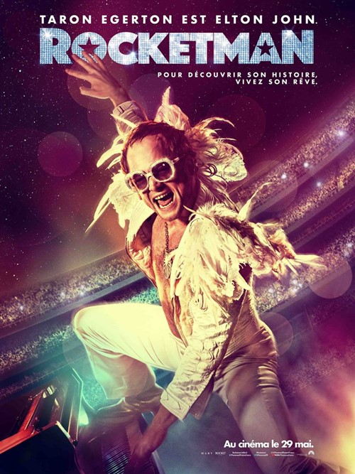 Rocketman film affiche