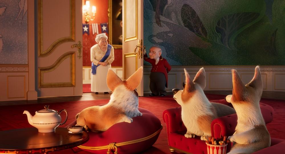 Royal Corgi film animation image