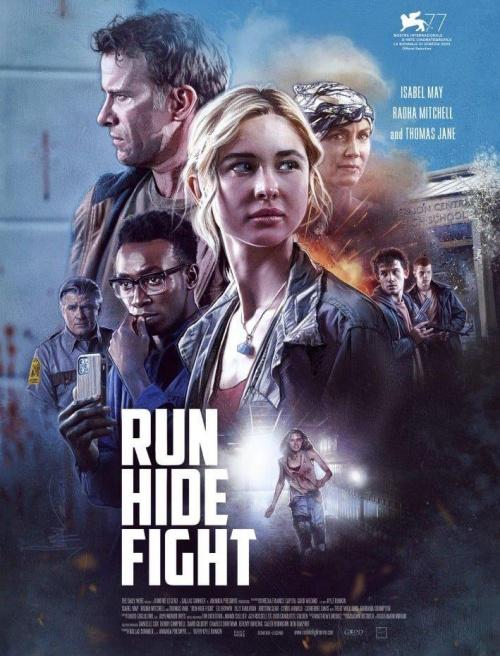 Run Hide Fight film affiche définitive réalisé par Kyle Rankin