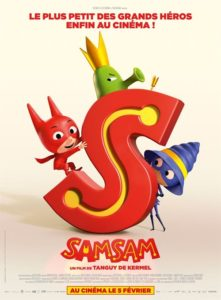 SamSam film animation affiche