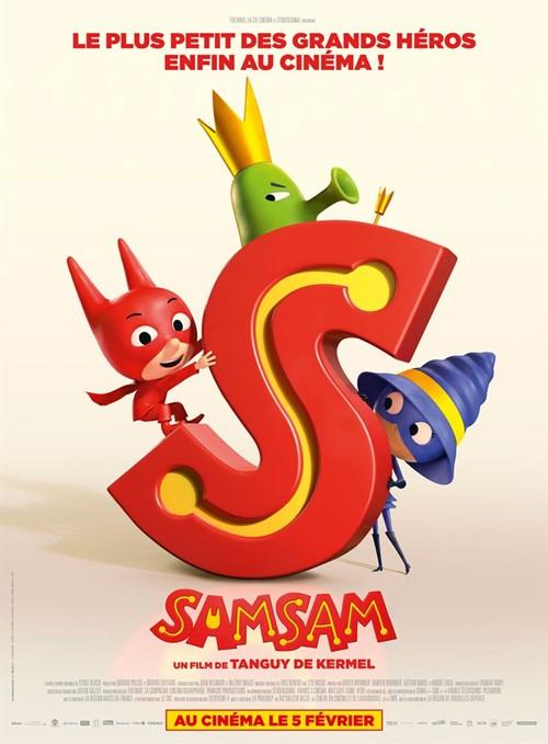 SamSam film animation affiche