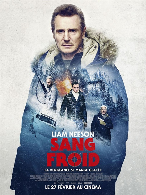 Sang froid film affiche