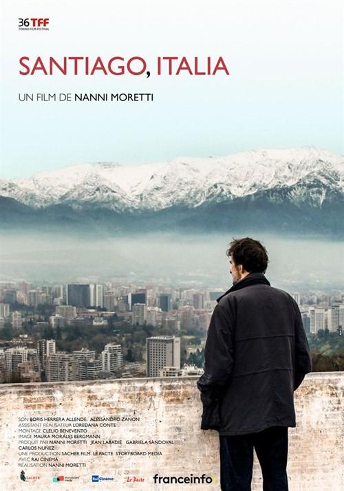 Santiago Italia film affiche
