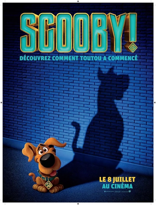 Scooby ! film animation affiche