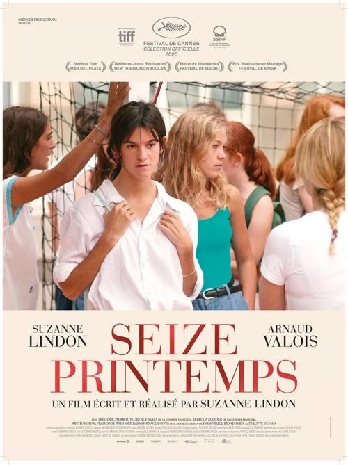 Seize Printemps 16 Printemps film affiche réalisé par Suzanne Lindon