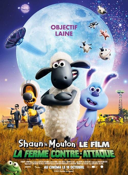 Shaun le mouton le film 2 La ferme contre attaque film affiche