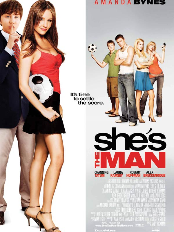 She's the man film affiche