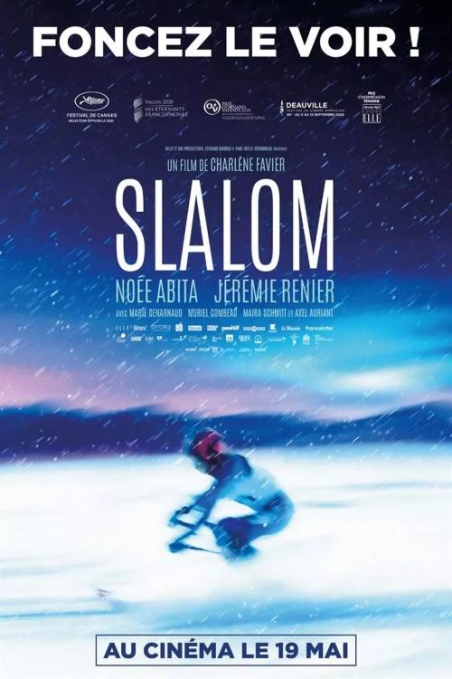 Slalom film affiche définitive réalisé par Charlène Favier