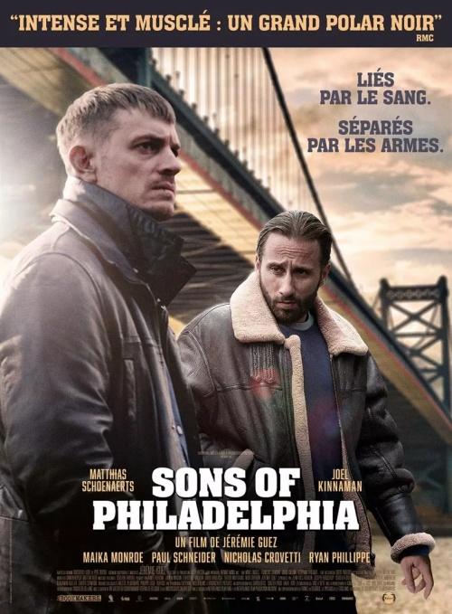 Sons of Philadelphia film affiche réalisé par Jérémie Guez