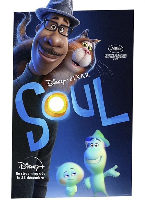Soul film animation affiche