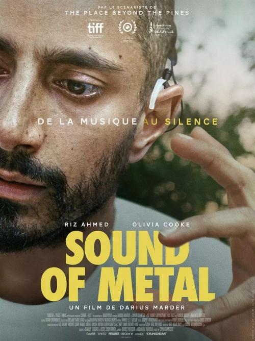 Sound of metal film affiche réalisé par Darius Marder