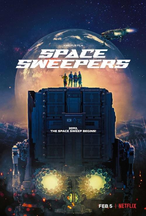 Space Sweepers film affiche réalisé par Jo Sung-Hee