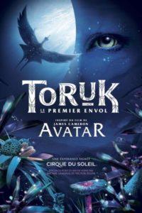 Spectacle Cirque du soleil Toruk - le premier envol