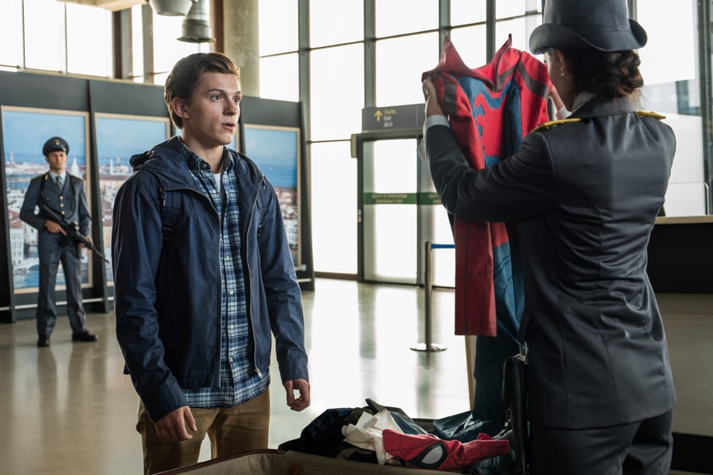 Spider man Far from Home film image