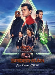 Spider man Far from Home film affiche