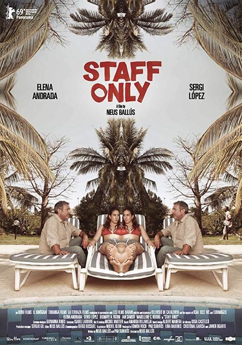 Staff only film affiche