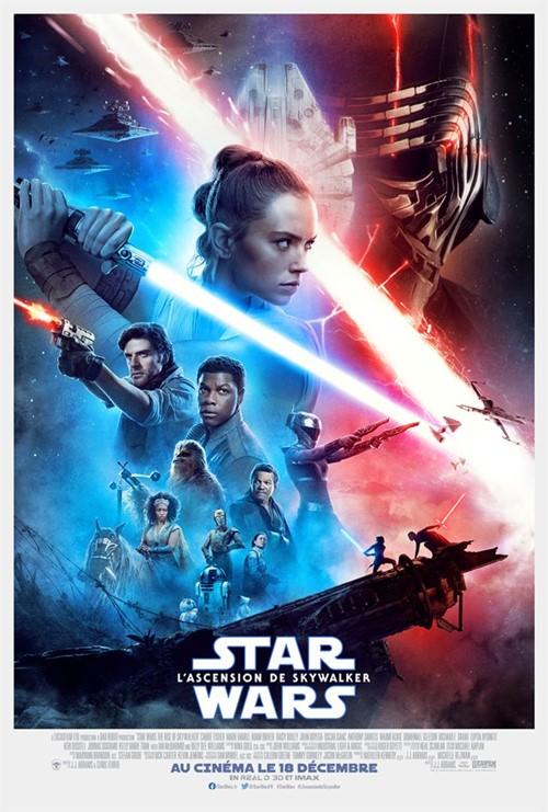 Star Wars : l'ascension de Skywalker film affiche