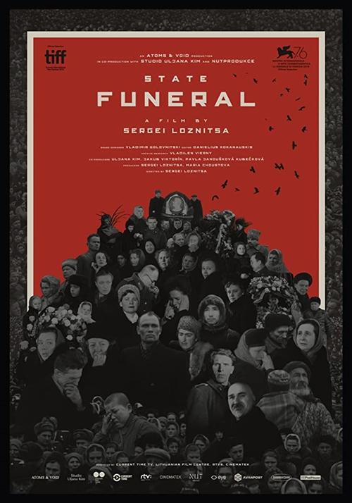 Funérailles d'Etat film affiche