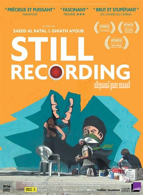 Still recording film documentaire affiche