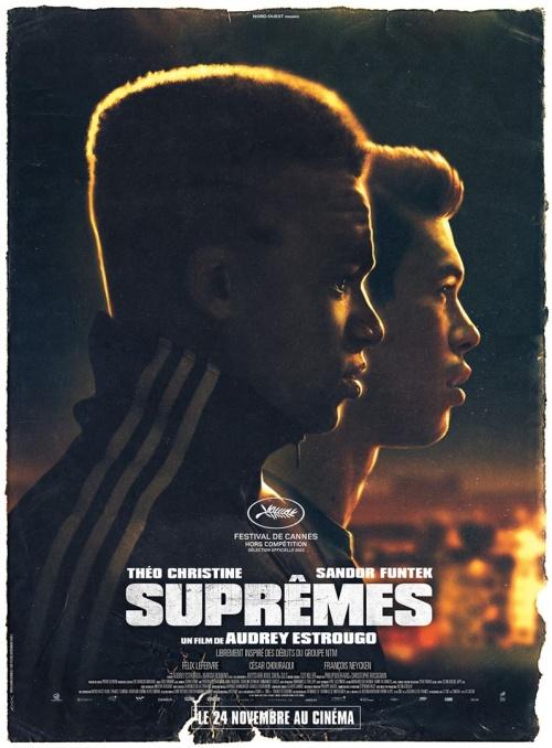 Suprêmes film affiche réalisé par Audrey Estrougo