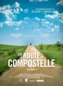 Sur la route de Compostelle film documentaire affiche