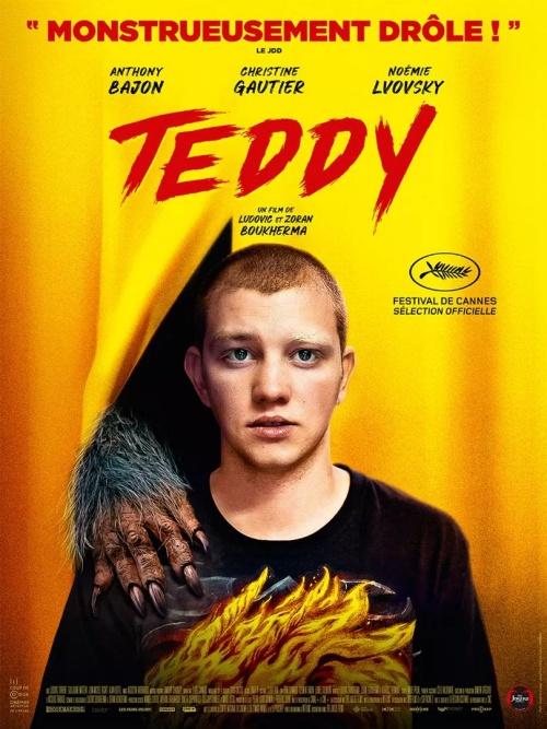 Teddy film affiche définitive réalisé par Ludovic Boukherma et Zoran Boukherma