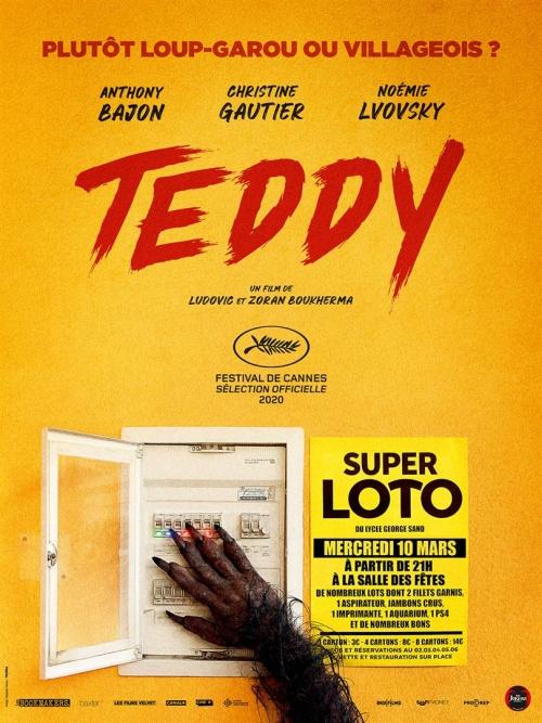 Teddy film affiche réalisé par Ludovic Boukherma et Zoran Boukherma
