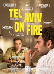 Tel Aviv on fire film affiche
