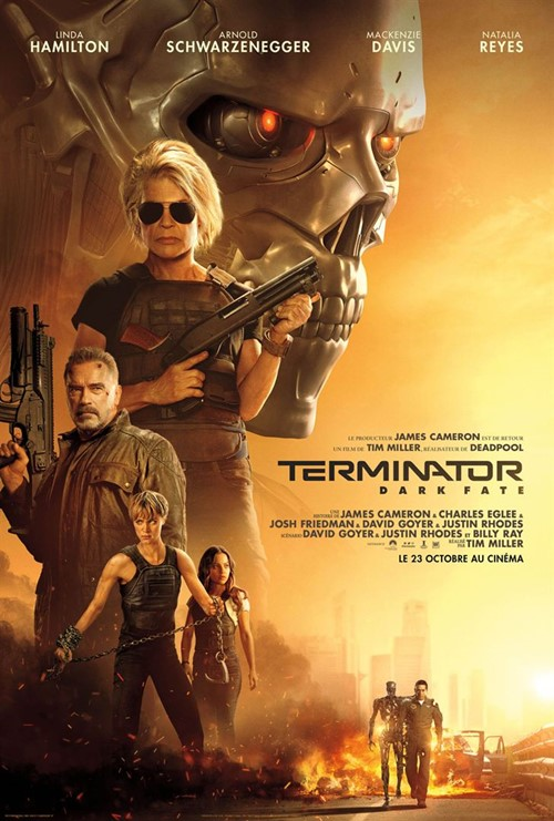 Terminator : Dark Fate film affiche