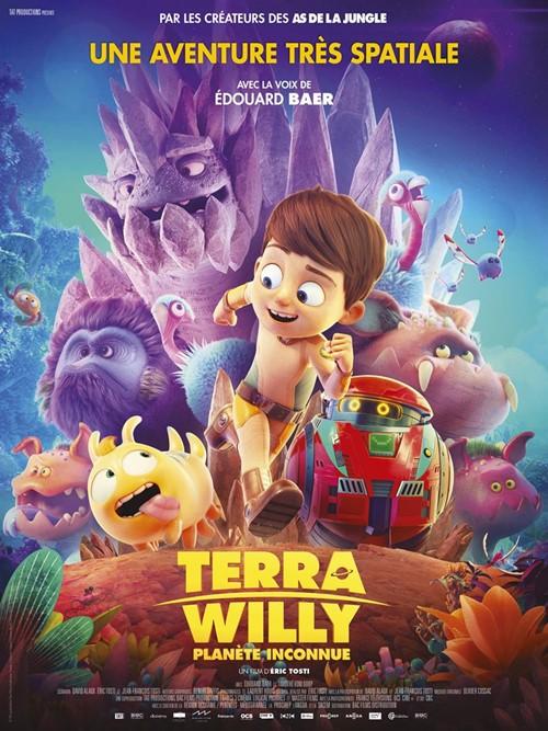 Terra Willy Planète inconnue film affiche