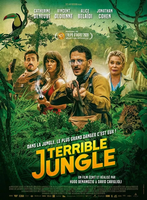Terrible Jungle film affiche