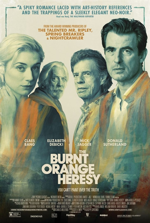 The Burnt Orange Heresy film affiche