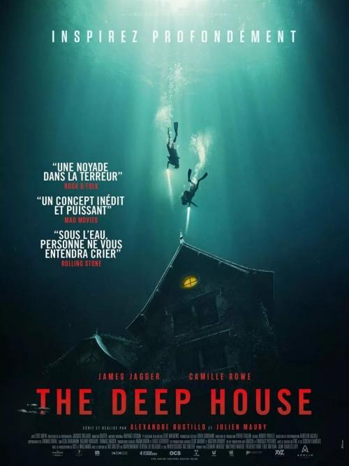 The Deep House film affiche réalisé par Alexandre Bustillo et Julien Maury