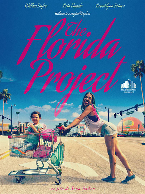 The Florida project film affiche